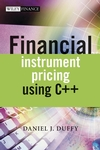 Financial Instrument Pricing Using C++ (0470855096) cover image