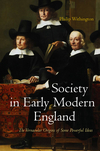 Society in Early Modern England (0745641296) cover image
