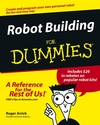 Robot Building For Dummies (0764540696) cover image