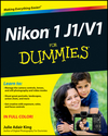 Nikon 1 J1/V1 For Dummies (1118398696) cover image