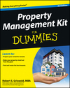 Property Management Kit For Dummies, 3rd Edition (1118461096) cover image