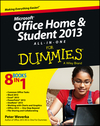 Microsoft Office Home and Student Edition 2013 All-in-One For Dummies (1118550196) cover image