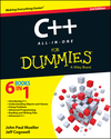 C++ All-in-One For Dummies, 3rd Edition (1118823796) cover image