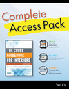 The Codes Guidebook for Interiors, Sixth Edition Complete Access Pack with Wiley E-Text, Study Guide 6e, and Interactive Resource Center Access Card (1118990196) cover image