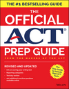 The Official ACT Prep Guide, 2018: Official Practice Tests + 400 Bonus Questions Online, Revised and Updated (1119386896) cover image