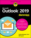 Outlook 2019 For Dummies (1119514096) cover image