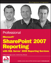 Professional Microsoft SharePoint 2007 Reporting with SQL Server 2008 Reporting Services (0470481897) cover image
