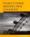 Graphing Calculator Guide for the TI-83 to accompany Functions Modeling Change: A Preparation for Calculus, 2nd Edition (0471447897) cover image