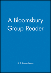 A Bloomsbury Group Reader (0631190597) cover image