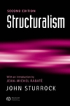 Structuralism: With a New Introduction by Jean ]Michel Rabaté, 2nd Edition (0631232397) cover image