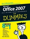Office 2007 All-in-One Desk Reference For Dummies (1118052897) cover image