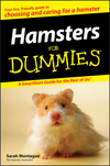 Hamsters For Dummies (1118068297) cover image