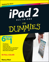 iPad 2 All-in-One For Dummies, 3rd Edition (1118240197) cover image