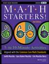 Math Starters: 5- to 10-Minute Activities Aligned with the Common Core Math Standards, Grades 6-12, 2nd Edition (1118449797) cover image