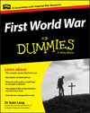First World War For Dummies (1118679997) cover image