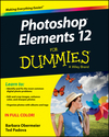 Photoshop Elements 12 For Dummies (1118742397) cover image