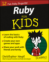 Ruby For Kids For Dummies (1119055997) cover image