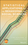 thumbnail image: Statistical Applications for the Behavioral and Social...