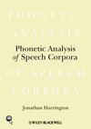 Phonetic Analysis of Speech Corpora (1405141697) cover image