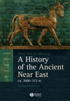 A History of the Ancient Near East ca. 3000 - 323 BC, 2nd Edition (1444327097) cover image