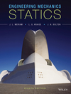Engineering Mechanics: Statics, 8th Edition (EHEP003197) cover image
