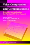 Voice Compression and Communications: Principles and Applications for Fixed and Wireless Channels (0471150398) cover image