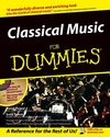 Classical Music For Dummies (0764550098) cover image