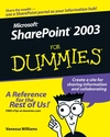 Microsoft SharePoint 2003 For Dummies (0764579398) cover image