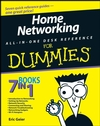 Home Networking All-in-One Desk Reference For Dummies (1118052498) cover image