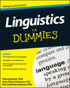 Linguistics For Dummies (1118091698) cover image