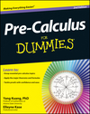 Pre-Calculus For Dummies, 2nd Edition (1118239598) cover image
