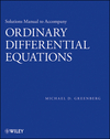 thumbnail image: Solutions Manual to Accompany Ordinary Differential Equations
