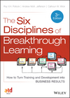 The Six Disciplines of Breakthrough Learning: How to Turn Training and Development into Business Results, 3rd Edition (1118647998) cover image
