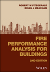 Fire Performance Analysis for Buildings, 2nd Edition (1118657098) cover image