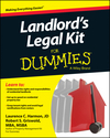 Landlord's Legal Kit For Dummies (1118775198) cover image