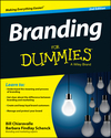 Branding For Dummies, 2nd Edition (1118958098) cover image