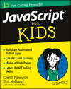 JavaScript For Kids For Dummies (1119119898) cover image