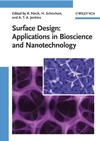 Surface Design: Applications in Bioscience and Nanotechnology (3527407898) cover image