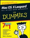 Mac OS X Leopard All-in-One Desk Reference For Dummies (0470190299) cover image