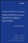 Student Solutions Manual to Accompany Simulation and the Monte Carlo Method , 2nd Edition (0470258799) cover image