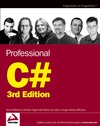 Professional C#, 3rd Edition (0764557599) cover image