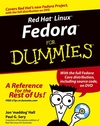 Red Hat Linux Fedora For Dummies, 6th Edition (0764558099) cover image