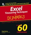 Excel Timesaving Techniques For Dummies (0764583999) cover image
