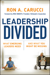 Leadership Divided: What Emerging Leaders Need and What You Might Be Missing (0787985899) cover image