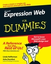 Microsoft Expression Web For Dummies (1118051599) cover image