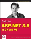 Beginning ASP.NET 3.5: In C# and VB (047018759X) cover image
