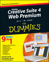 Adobe Creative Suite 4 Web Premium All-in-One For Dummies (047047789X) cover image