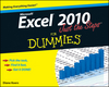 Excel 2010 Just the Steps For Dummies (047062289X) cover image