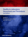 Quality in Laboratory Hemostasis and Thrombosis, 2nd Edition (047067119X) cover image