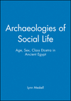 Archaeologies of Social Life: Age, Sex, Class Etcetra in Ancient Egypt (063121299X) cover image